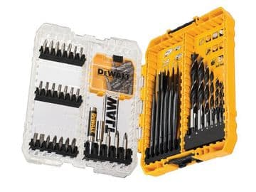DT70758 Mixed Drill & Bit Set, 57 Piece